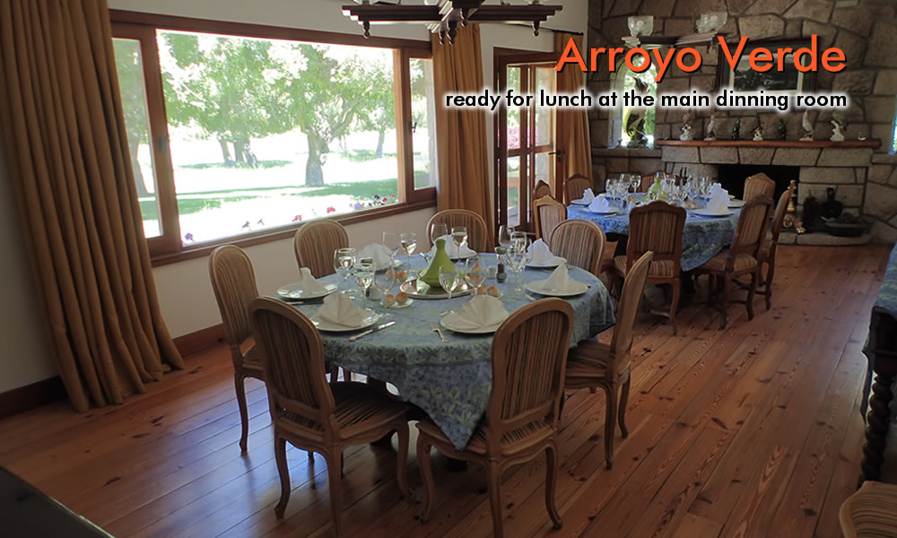 Arroyo Verde dinning room photo