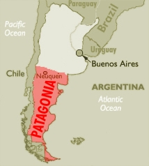 Patagonia argentina dry fly fishing great food and malbec patagonia argentina area map gumiabroncs Images