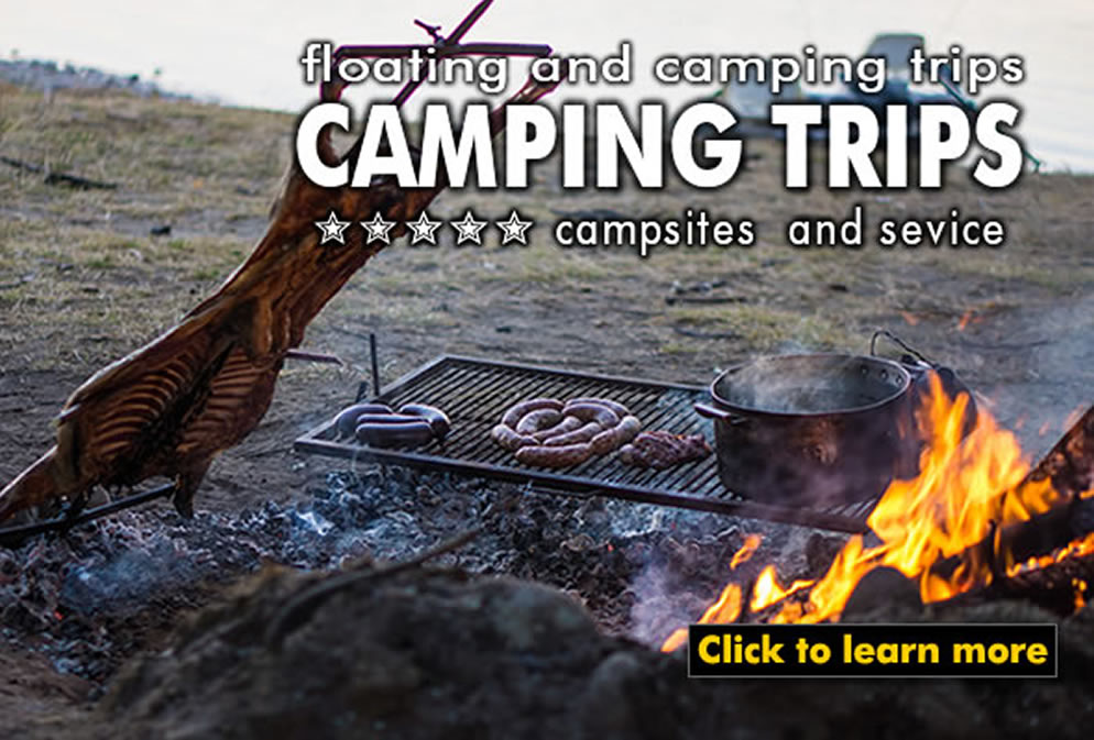camping trips - a different approach to fly fishing in Patagonia Argentina