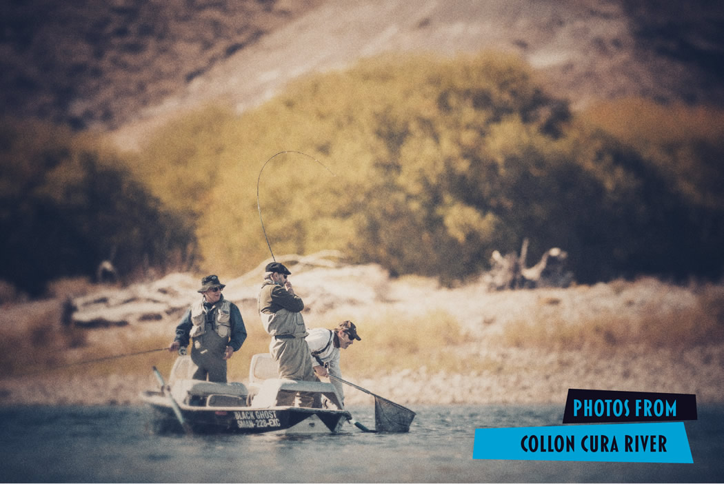 Fly fishing photos from the collon cura river