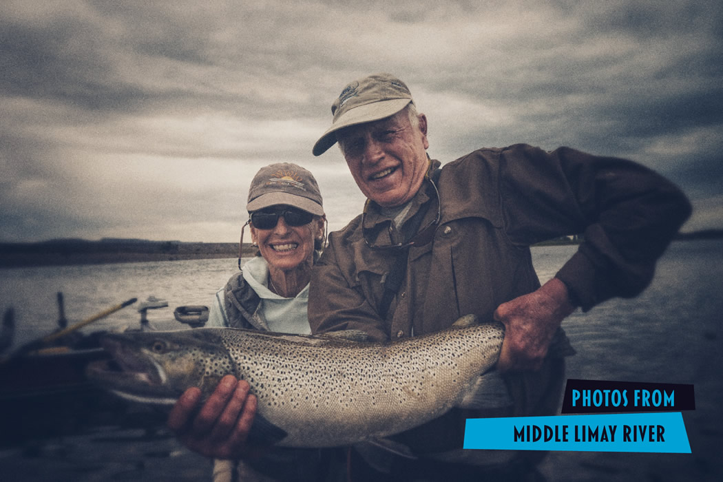 Fly fishing photos from the middle limay river