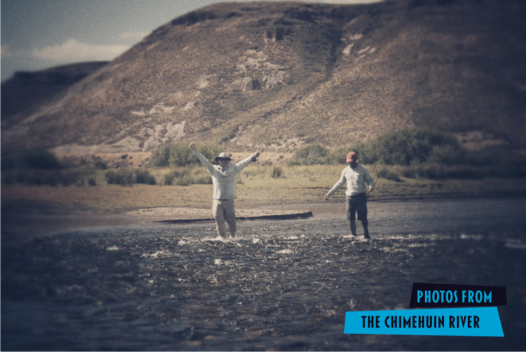 Fly fishing the Chimehuin River